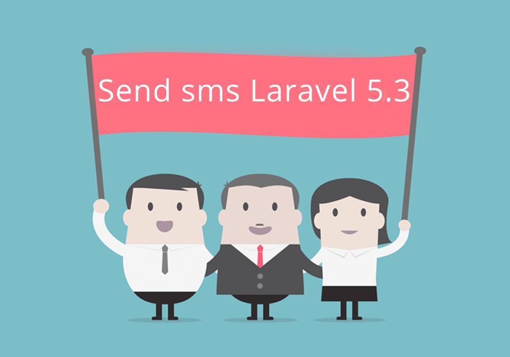 ارسال رسائل sms من خلال laravel 5.3