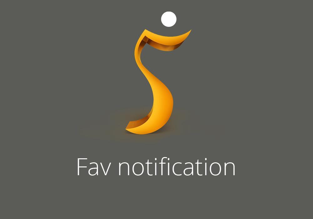 Fav notification