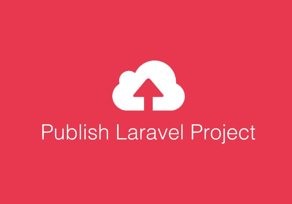 publish laravel 5.4 website