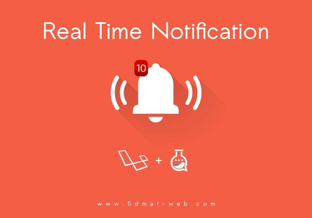 Laravel 5.4 realtime notification system lesson 9