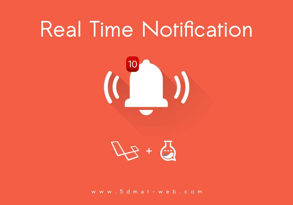 Laravel 5.4 realtime notification system lesson 3