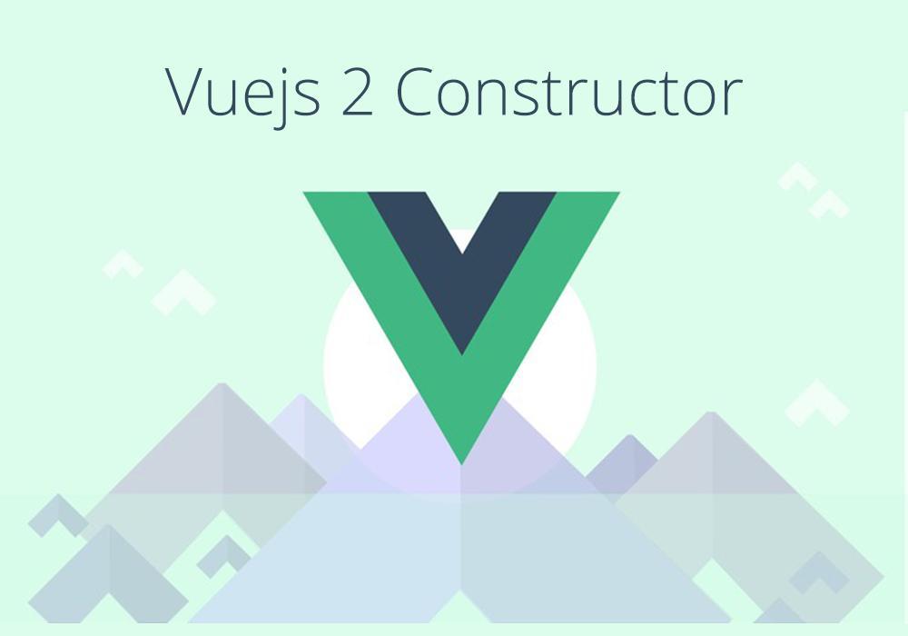 بنية   Vuejs 2 Constructor